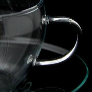 ロングセラーのハーブティー用カップ【セレック/ガラスカップ&ソーサー GCS-1(クリアー)】|e-tisanes|03