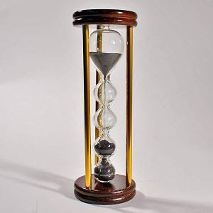 誤差が少ない砂鉄を使用した「職人の手作り砂時計(3分計)フレンチサンドグラス」金子硝子|e-tisanes|02