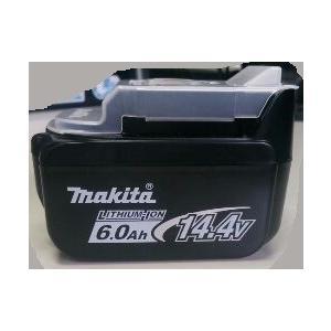 マキタ 14.4V 6.0Ah BL1460B バッテリ  6Ah 電池 残容量表示+自己故障診断付 純正 正規品!|e-tool-shopping