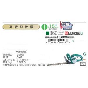 マキタ 生垣バリカン MUH355G 特殊コーティング刃仕様 350mm  |e-tool-shopping
