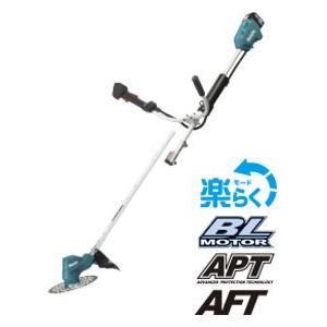 マキタ 14.4V 充電式草刈機 MUR145UDRF Uハンドル(分割棹)タイプ 3Ah セット e-tool-shopping