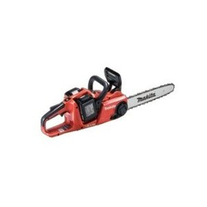 マキタ(makita) 18V+18V=36V 電気チェーンソー 350mm MUC353DGFR 25AP仕様 6Ah セット 赤|e-tool-shopping
