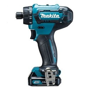 マキタ 充電式ドライバドリル DF033DSHX フルセット(1.5Ahバッテリ×2、充電器DC10SA、ケース付)10.8V e-tool-shopping