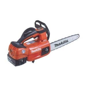マキタ(makita) 充電式チェンソー MUC204DGNR 赤 ガイドバー200mm 18V 6.0Ah(バッテリ2本・充電器付) e-tool-shopping