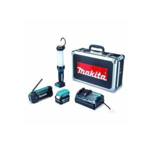 マキタ(makita) 防災用コンボキット CK1008 (充電式ライトML104・ラジオMR052・スマートフォン充電アダプタADP08・バッテリ1個BL1040B・充電器DC10SA) e-tool-shopping