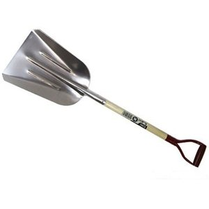 アルミ石灰スコップ(灰スコップ)除雪スコップ 雪かきにも最適   アルミ製|e-tool-shopping