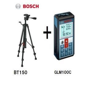 三脚付(BT150) ボッシュレーザー距離計 GLM100C|e-tool-shopping