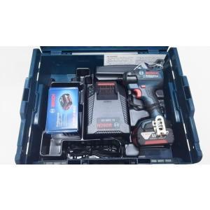 ボッシュ 18V 6.0Ah インパクトドライバー GDR18V-EC6 (6.0Ahバッテリー2個、充電器、キャリングケースL-BOXX136付)|e-tool-shopping