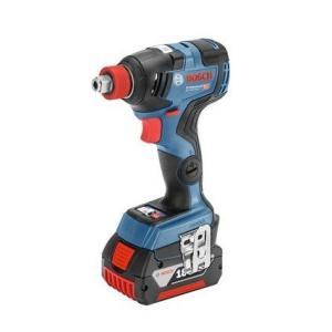 ボッシュ(BOSCH) コードレスインパクトドライバー GDX18V-200C6 (6.0Ahバッテリー2個+充電器+ケース付) 18V 12.7差角ピンタイプ GDX18V-200 C6|e-tool-shopping