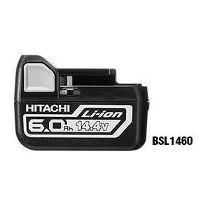 日立 電池 BSL1460  大容量 6.0Ah 14.4V リチウムイオンバッテリー 正規品 純正 2年保証書付ハイコーキハイコーキ|e-tool-shopping