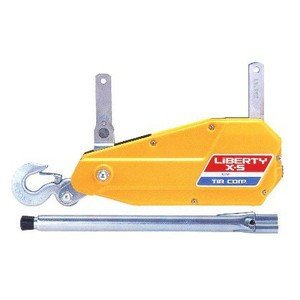 チルホール X-5 ワイヤ10M付 万能ウインチ リバティ カツヤマキカイ|e-tool-shopping