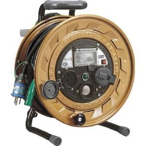 ハタヤ(HATAYA) 金属感知機能付メタルセンサーリール100V型標準型コードリール MSB-301KX|e-tool-shopping