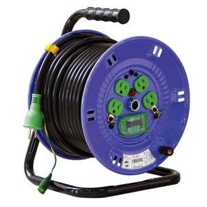 日動工業 電工ドラム NP-EB34 アース付  ドラム コードリール|e-tool-shopping