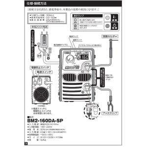 日動工業(NICHIDO) 単相200V専用 デジタルインバーター直流溶接機 BM2-160DA-SP Superウェルダー160 160A|e-tool-shopping|03