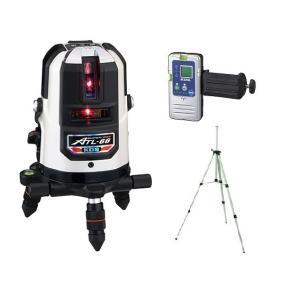 ムラテックKDS 高輝度レーザー墨出器 ATL-66RSA 受光器+三脚 セット 輝度スーパーレイ|e-tool-shopping