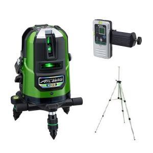 ムラテックKDS 高輝度リアルグリーンレーザー墨出器 ATL-66RGRSA 三脚+受光器付 セット|e-tool-shopping