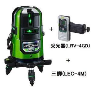 ムラテックKDS リアルグリーンレーザー ATL-96RGRSA 受光器(LRV-4GD)+三脚(LEC-4M)付 1年間完全保証付|e-tool-shopping