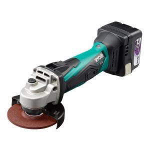 リョービ 充電式ディスクグラインダ BG-1410 14.4V 4.0Ah フルセット|e-tool-shopping