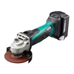 リョービ(RYOBI) 18V 充電式ディスクグラインダ BG-1810L5 623409A 5.0Ah セット|e-tool-shopping