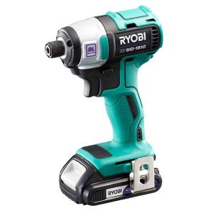 リョービ 充電式インパクトドライバ BID-1810  18V フルセット 1.5Ah|e-tool-shopping
