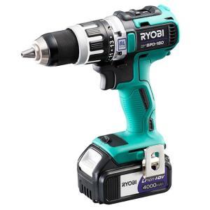 リョービ 充電式震動ドライバドリル BPD-180 18V 4.0Ah フルセット|e-tool-shopping