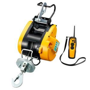 リョービリモコンウインチ WI-62RC ワイヤーφ4×21M付最大吊揚荷重 60Kg 吊下型 無線リモコン|e-tool-shopping