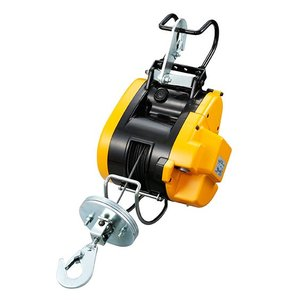 リョービウインチ WI-62 ワイヤーφ4×15M付最大吊揚荷重 60Kg 小型軽量タイプ|e-tool-shopping
