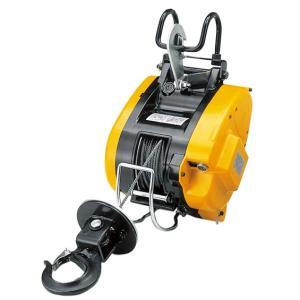 リョービウインチ WIM-125A ワイヤーφ5×21M付最大吊揚荷重 130Kg 吊下型 マグネットモーター|e-tool-shopping