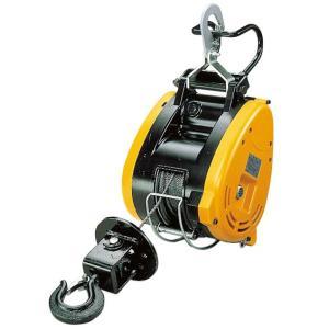 リョービウインチ WI-125 ワイヤーφ5×21M付最大吊揚荷重 130Kg 軽量コンパクト設計|e-tool-shopping