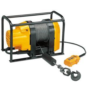 リョービウインチ WIM-150 ワイヤーφ5×40M付最大吊揚荷重 150Kg 定置型 マグネットモーター|e-tool-shopping