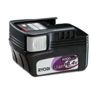 リョービ リチウムイオンバッテリー B-1440Lスライドタイプ 64064314.0Ah 4000mAh e-tool-shopping