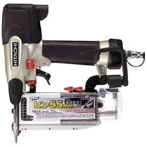 日立工機 ピン釘打機 釘足長15~55mm 空打ち防止 打込み深さ調整機構 NP55M|e-tool-shopping