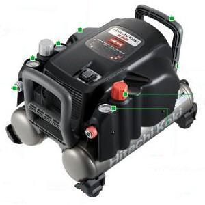 送料無料 (沖縄、離島除く)日立 高圧エアコンプレッサ EC1433H 高圧・一般圧用 常圧|e-tool-shopping