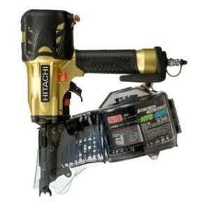 送料無料 (沖縄、離島除く)日立 高圧ロール釘打機 NV75HMCゴールド|e-tool-shopping