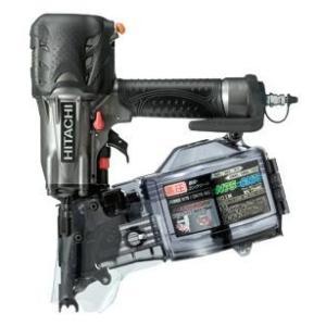 送料無料 (沖縄、離島除く)日立 高圧ロール釘打機 NV75HMCメタリックグレー(G)|e-tool-shopping
