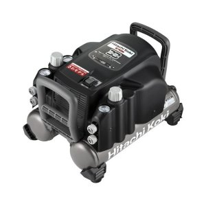 送料無料 (沖縄、離島除く)日立工機 釘打機用エアコンプレッサ タンク容量9L 一般圧専用機 EC1433H(N)|e-tool-shopping