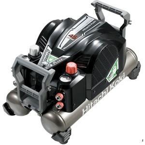 送料無料 (沖縄、離島除く)日立 高圧エアコンプレッサ EC1445H2 (B)(釘打機用)大容量タンク12L セキュリティ機能付|e-tool-shopping