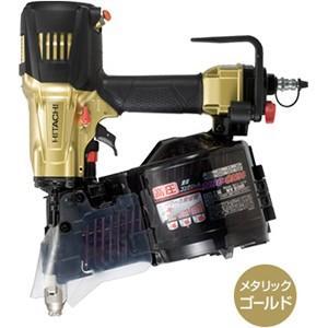 送料無料 (沖縄、離島除く)日立 高圧ロール釘打機 NV90HR ゴールド 90mm|e-tool-shopping