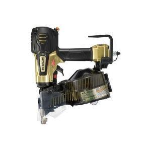 送料無料(但し、沖縄、離島を除く) 日立工機 65mm 高圧ロール釘打機 NV65HR(N) メタリックゴールド|e-tool-shopping