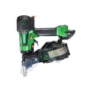 送料無料(但し、沖縄、離島を除く) 日立工機 50mm 高圧ロール釘打機 NV50HR(SL) メタリックグリーン|e-tool-shopping