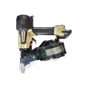 送料無料(但し、沖縄、離島を除く) 日立工機 50mm 高圧ロール釘打機 NV50HR(N) メタリックゴールド|e-tool-shopping