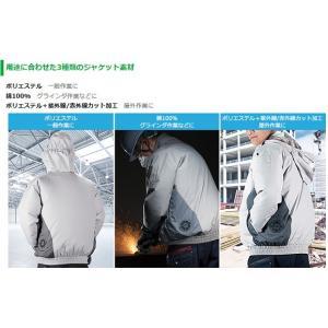 日立工機 コードレスクールジャケット UF1810DL(P) Sサイズ ジャケット+ファンユニット一式 (電池・充電器・アダプター別売)  ポリエステル 9325-5781ハイコーキ|e-tool-shopping|02