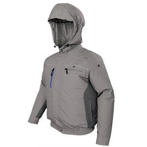 日立工機 コードレスクールジャケット UF1810DL(C) Lサイズ ジャケット+ファンユニット一式 (電池・充電器・アダプター別売) 綿 9330-0157|e-tool-shopping
