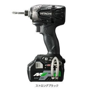 送料無料(沖縄、離島除く) 日立工機 36V マルチボルト コードレスインパクトドライバ WH36DA(2XPB) セット 黒|e-tool-shopping
