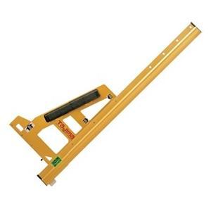 タジマ 丸鋸ガイド MRGの特徴  高精度アルミ採用。 軽くて丈夫中空リブ構造の高精度アルミ材を採用...