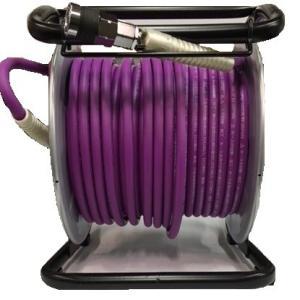 フジマック 高圧用 エアードラム 6.0mm×30m W17MD-630C 釘打機 パープル 限定色 マッハ|e-tool-shopping