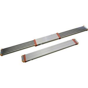 ピカ STGD-3623 3.6M アルミ伸縮足場板 アルミ両面使用型|e-tool-shopping