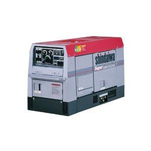 送料無料!(但し、沖縄・離島を除く)新ダイワ ディーゼルエンジン溶接機兼発電機 DGW310DMC 300A 二人用|e-tool-shopping