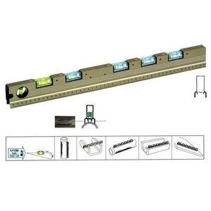 KOD アルミ製 排水勾配器 GL-25U 500mm 水平器 国産 e-tool-shopping