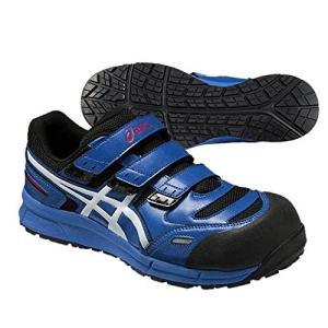 アシックス 安全靴 スニーカー CP102 ウィンジョブ 高機能モデル 青 27.5cm ブルー×ホワイト|e-tool-shopping